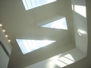 新校舎の天井!