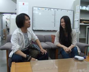 佐久間さんと林さん