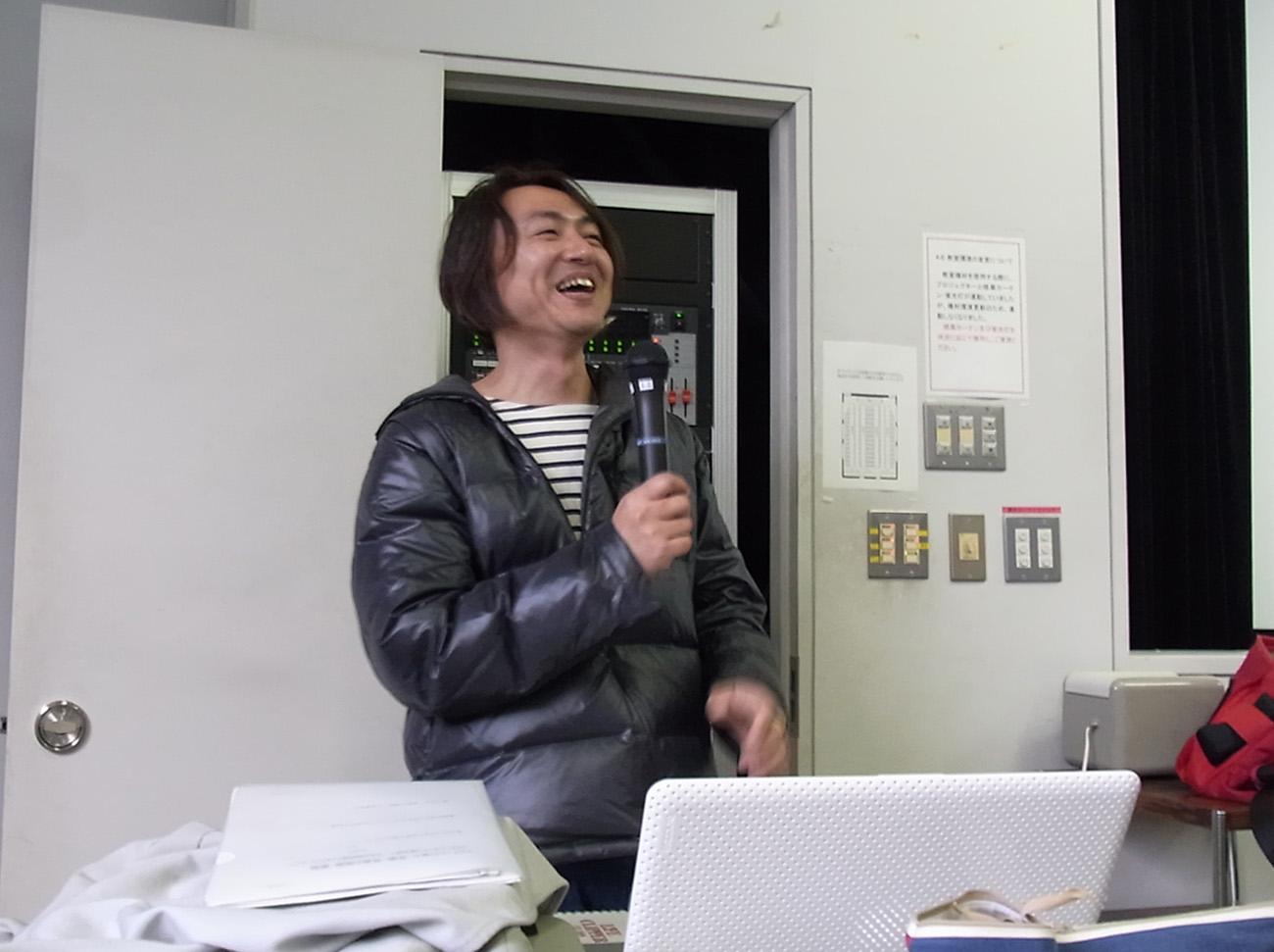 笑顔の和田敏克先生