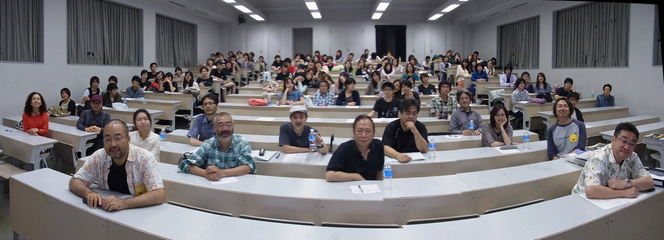 アニメ専攻名物「前期大講評会!」