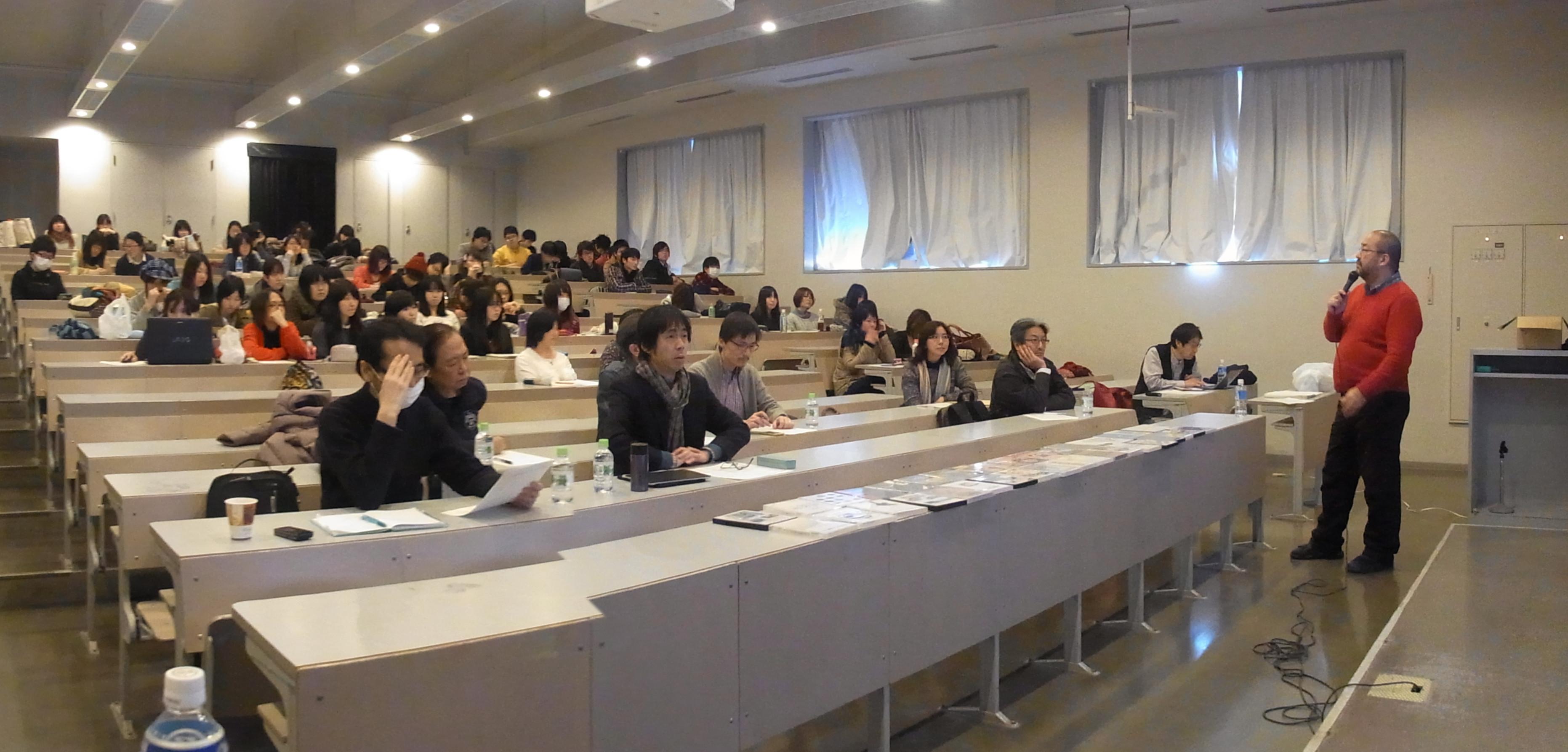 大教室にて後期大講評会!