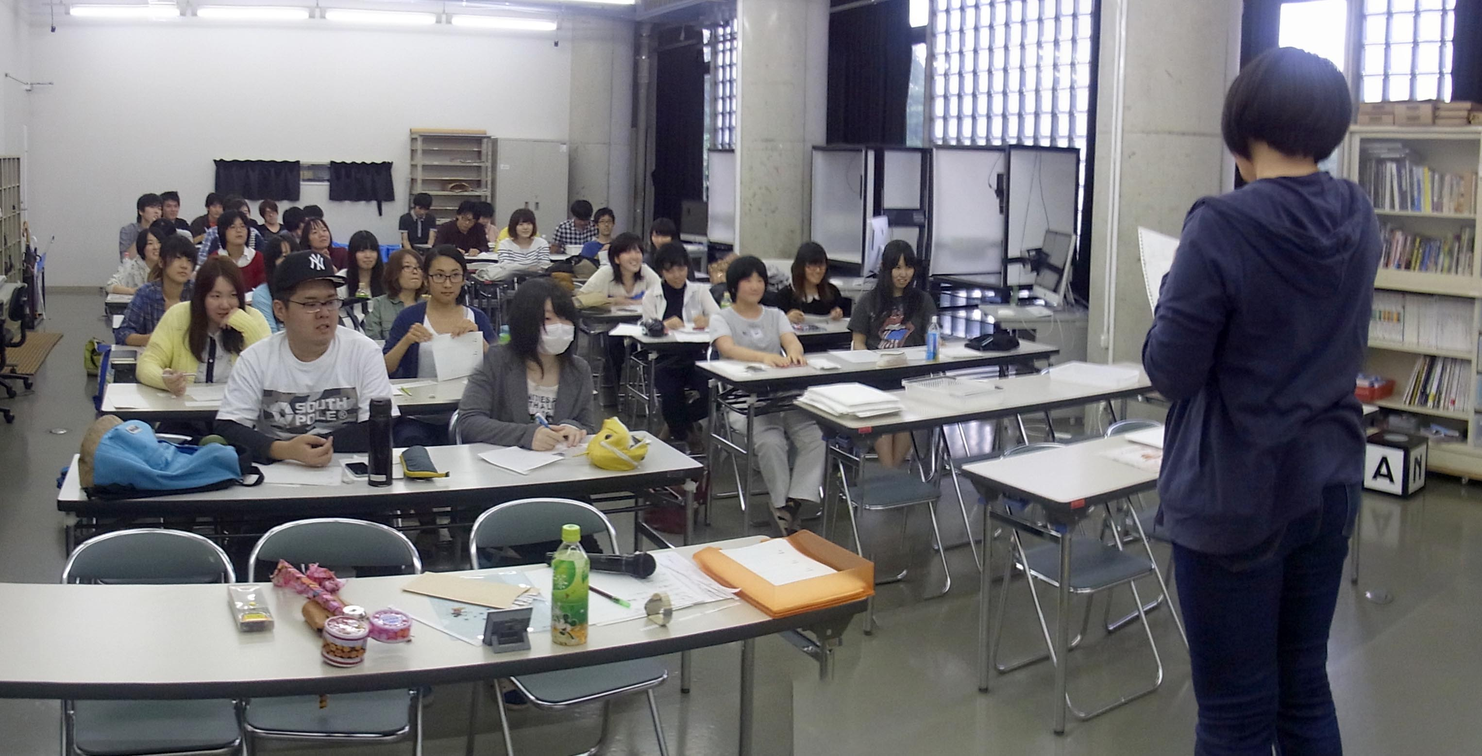 笑顔溢れる授業風景