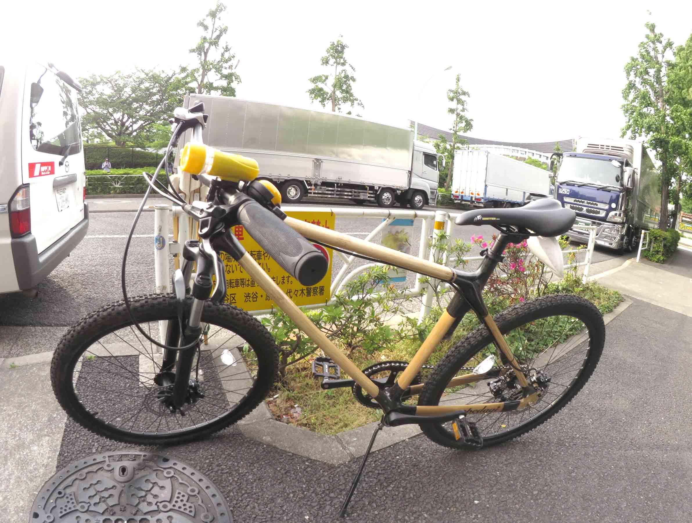 とても素敵な「竹製フレーム」自転車!