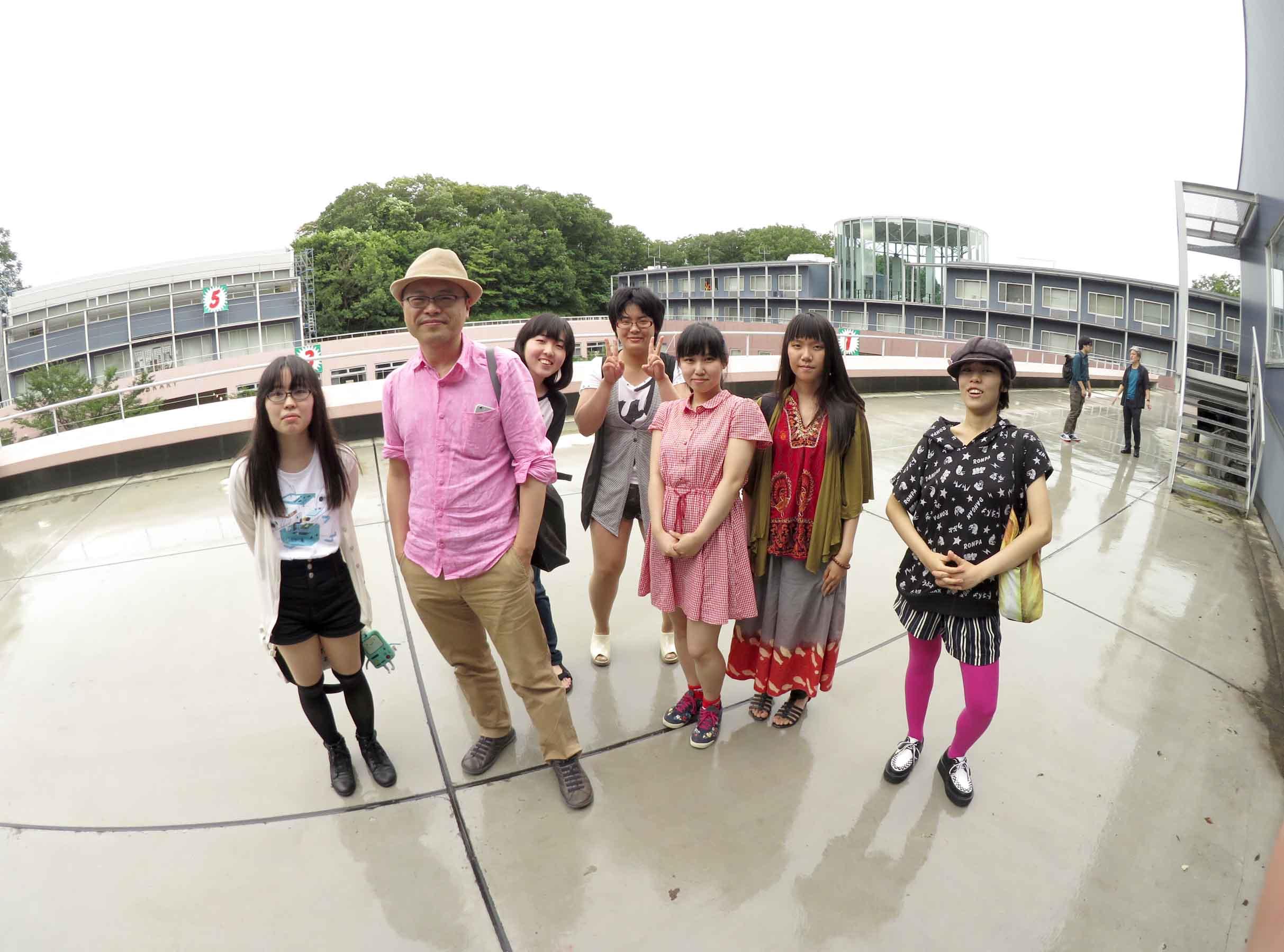 山村浩二先生と記念写真